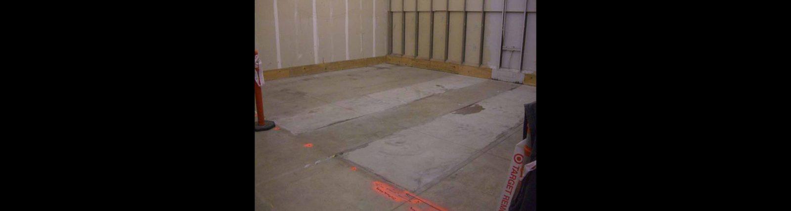 Concrete Scanning 20 x 25 ft Room to Avoid Rebar