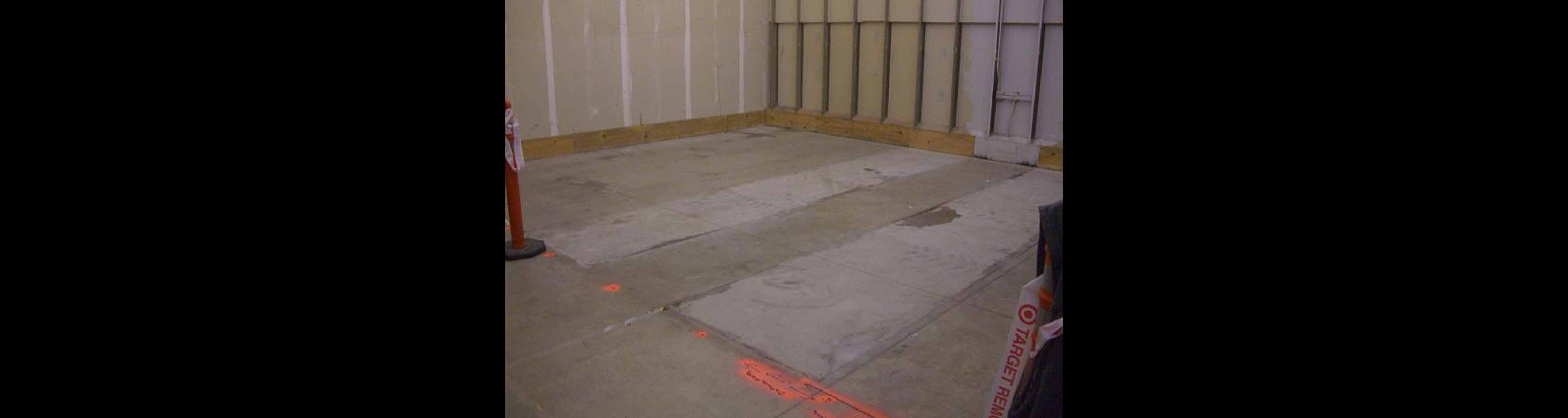Concrete Scanning 20 x 25 ft Room to Avoid Rebar