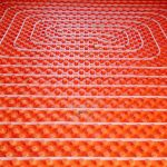 Radiant Heat Tubing for a Concrete Slab